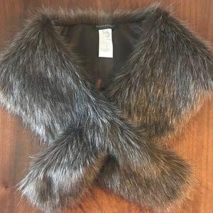 Banana Republic faux fur stoles - 3 for sale